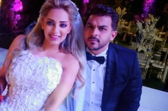 الصور الأولى من حفل زفاف محمد رشاد ومي حلمي