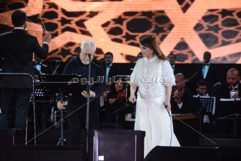 60 صورة من حفل ماجدة الرومي في مصر.. وهؤلاء أبرز الحضور