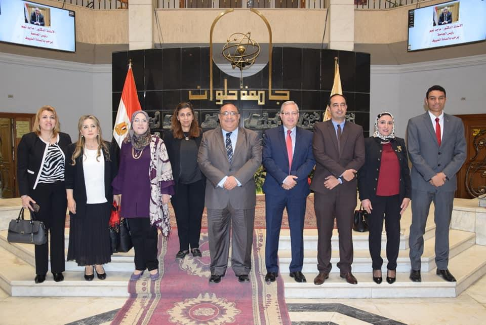 """انطلاق فعاليات ندوة """"صوتك لمصر بكره"""" بجامعة حلوان"""