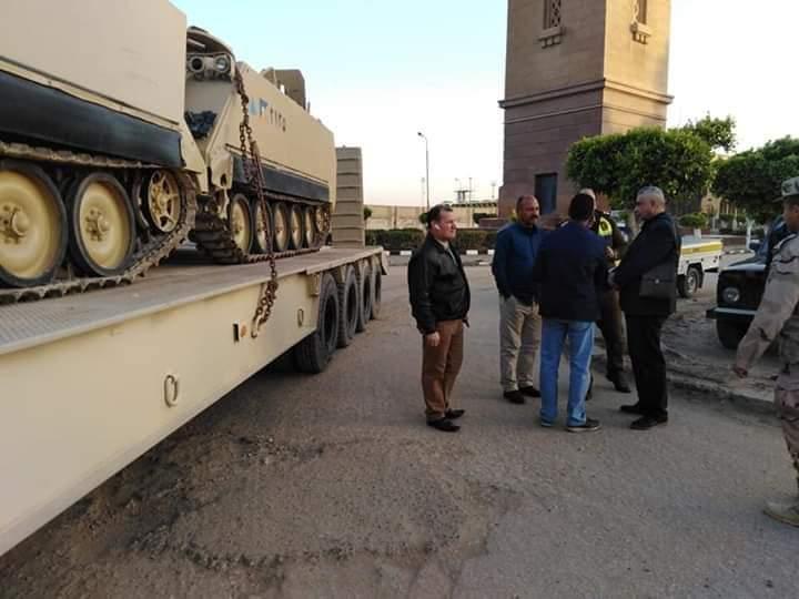 بدء انتشار اطقم القوات المسلحة المكلفة بتأمين الاستفتاء في مدن الغربية