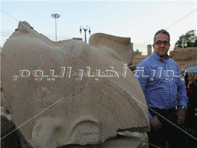 تمثال رمسيس الثاني يتحول من «احجار مكسرة» إلى صرح عظيم