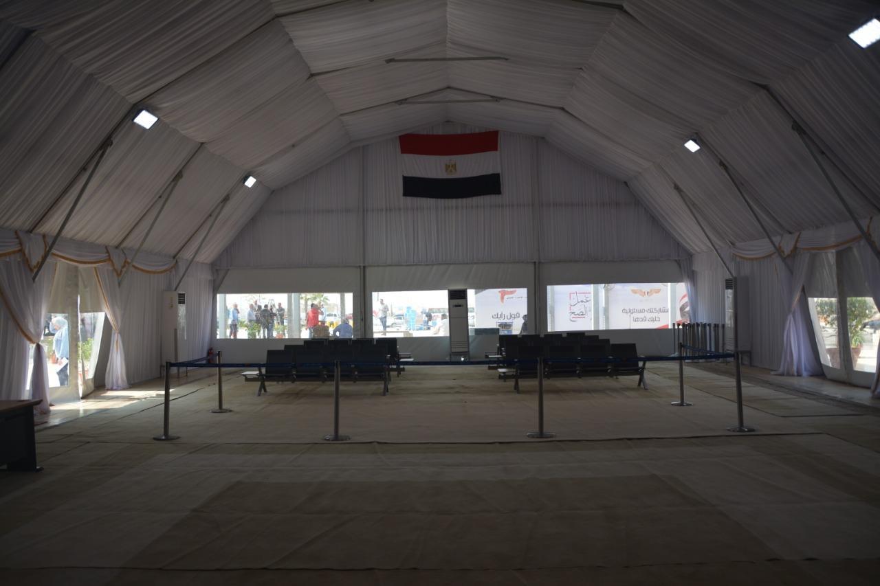 مطار القاهرة يستعد للإستفتاء على التعديلات الدستورية