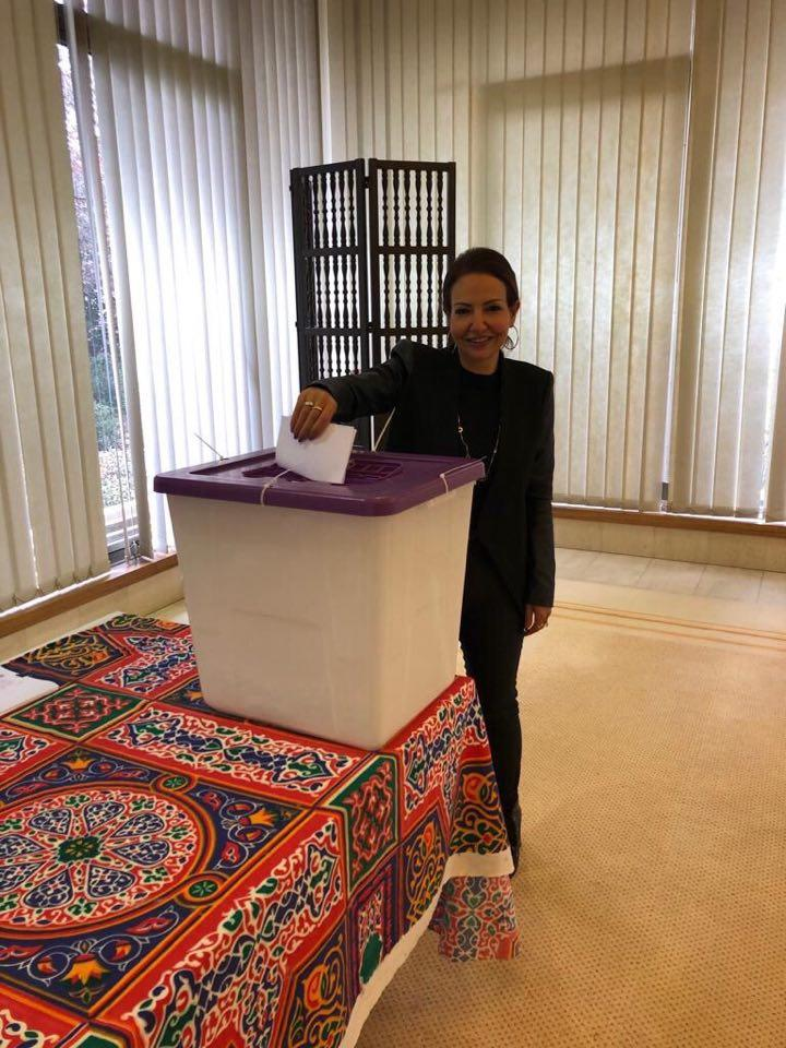 توافد المصريين بأستراليا للمشاركة في الاستفتاء على التعديلات الدستورية