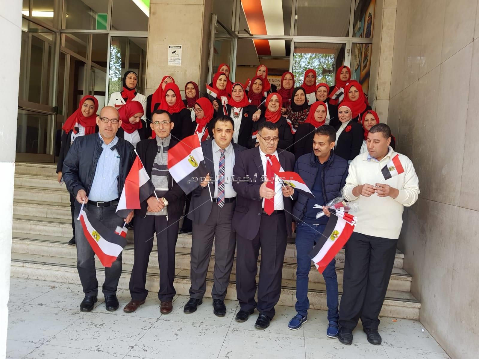 الجالية المصرية بميلانو