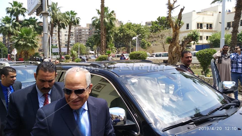 محافظ الجيزه يوجه رساله للشعب المصري