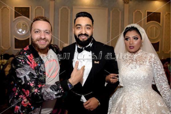 سعد الصغير وشعبولا والخلعي يحتفلون بزفاف «فهد ولميس»