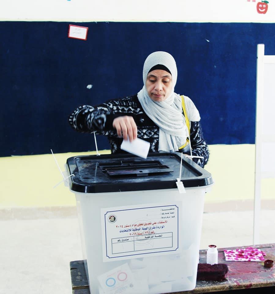 زيادة مستمرة للتصويت على الاستفتاء بلجان التجمع الخامس
