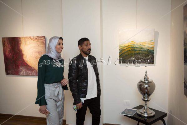 عبد الله السعيد والبدري وأحمد حسن وزيدان وهيثم شاكر يفتتحون جاليري «كارتيلا»