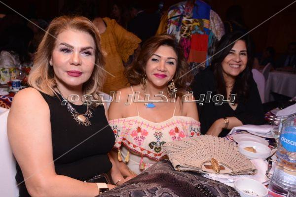 نجوم الفن والمجتمع بمهرجان الإبداع المصري