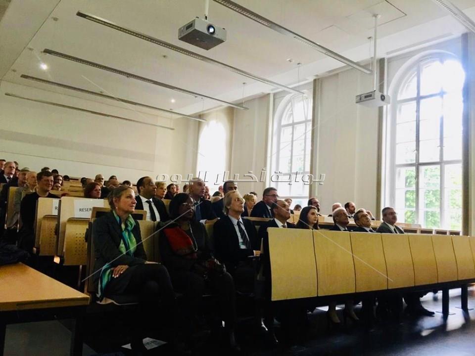 محاضرة عن الاكتشافات الأثرية الجديدة والمتحف المصري الكبير بجامعة هومبولدت الالمانية