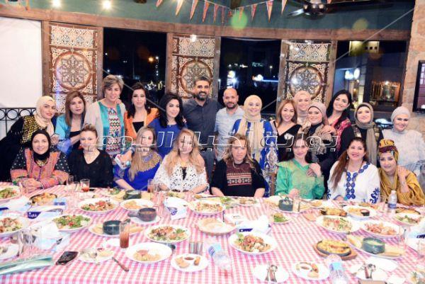 إعلاميات ومذيعات في سحور دعاء عامر