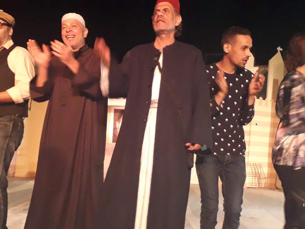 السامر المسرحية تدعو للحب والسلام
