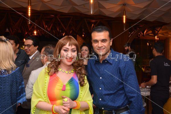 مشاهير الفن في حفل سحور ياسر سليم