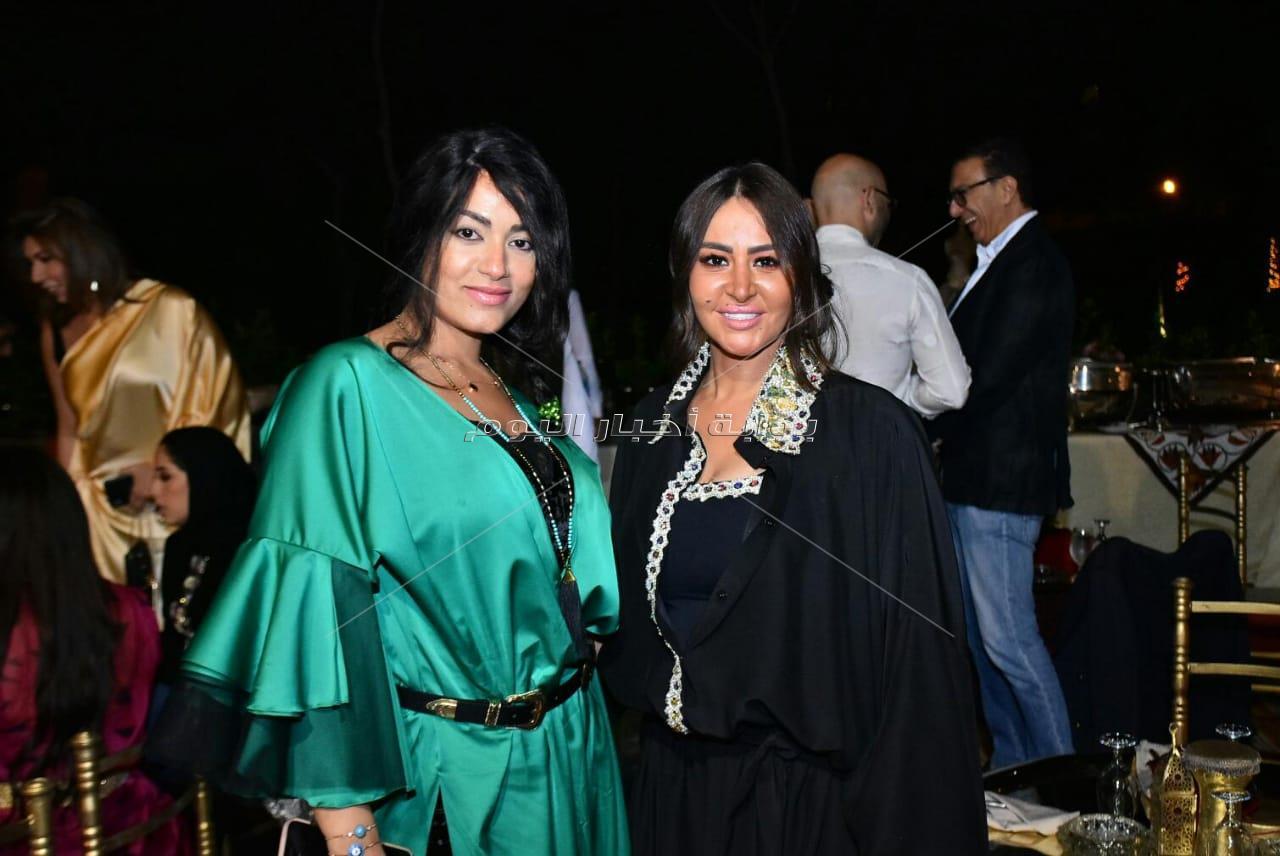 لطيفة ومي سليم وإيمي سلطان في سحور نجوى زهران