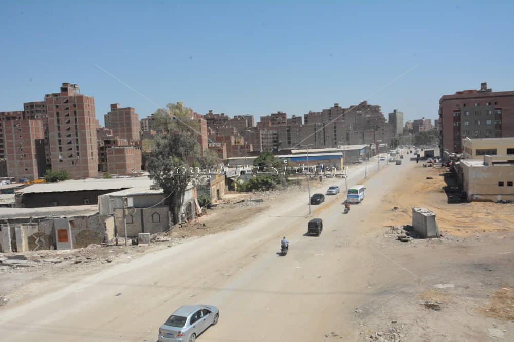 محافظ الجيزة يتابع أعمال رصف وتطوير طريق طراد النيل بتكلفه 33 مليون جنية