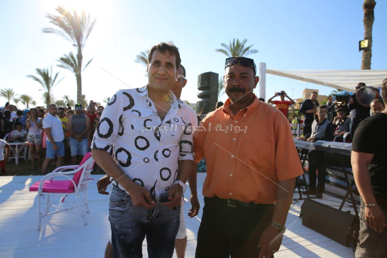 أحمد شيبة يُشعل «الهاموك» ببورتو مارينا