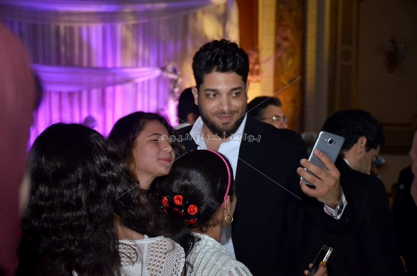 بهاء سلطان وسامو زين أبرز حضور زفاف شقيق الملحن معتز أمين