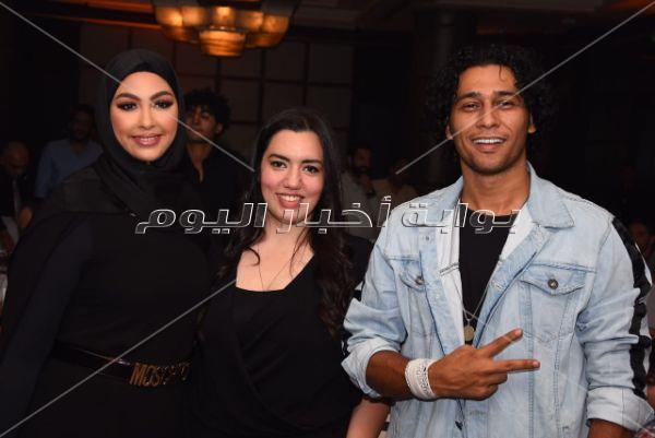 أنوشكا وقماح وأوكا وأروتيجا في حفل ألبوم مي كساب «أنا لسه هنا»