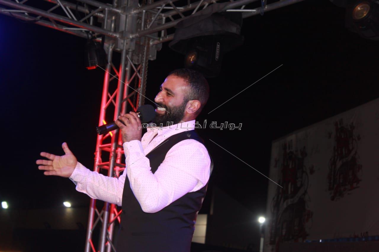 أحمد سعد في الساحل الشمالي