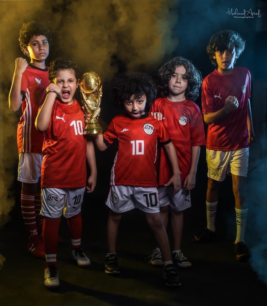 عباءة تشجيع مصر في كأس الأمم الأفريقية