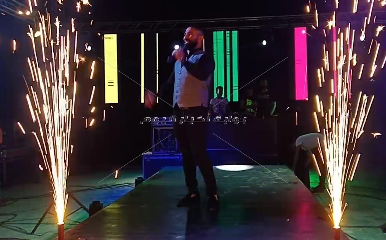 «فاير ورك» إسلام مرزوق تُشعل حفلات أحمد سعد ومادلين مطر