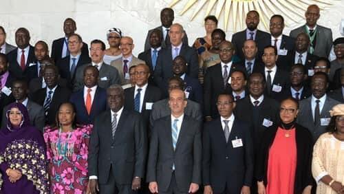 الاعداد للقمة الافريقية في النيجر