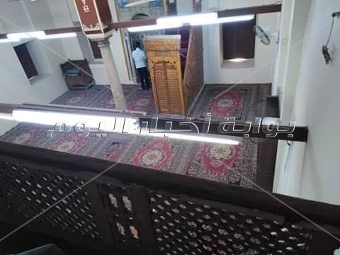 مسجد آمنة الكاشف بأسيوط يعود للحياة بعد ترميم أثري