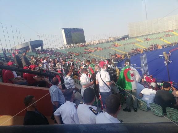الجماهير الجزائرية تؤازر المغرب أمام ناميبيا