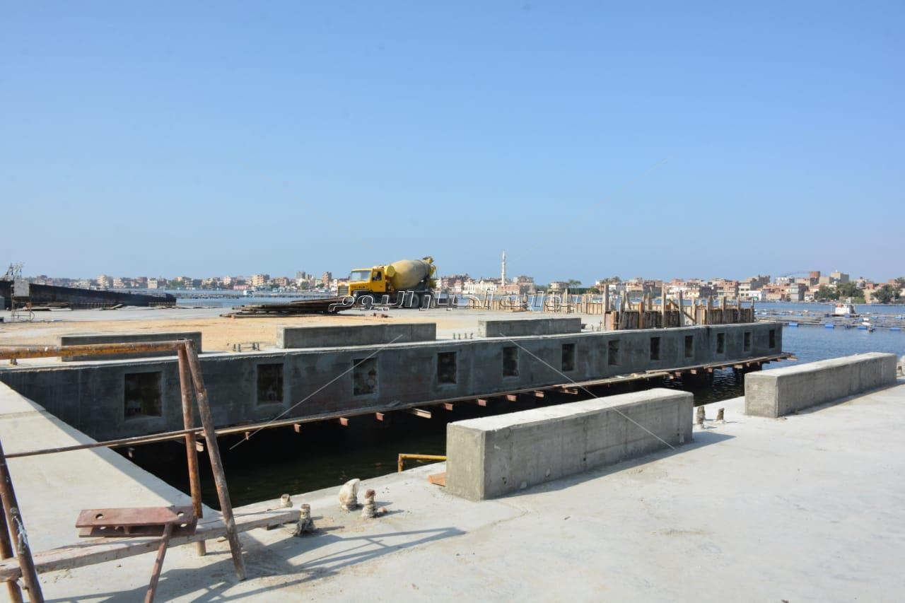 لجنة الإدارة المحلية  تتفقد أعمال تطوير  مدينة رشيد