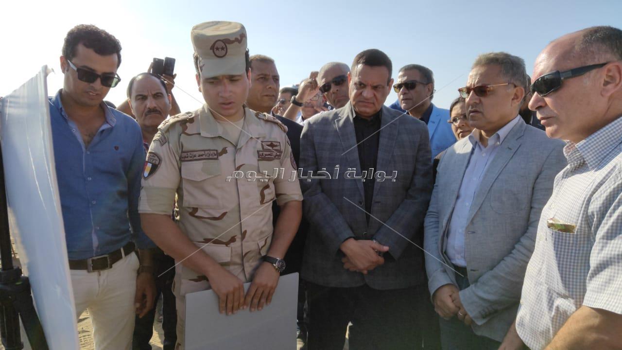 محلية  البرلمان تختتم زيارتها لرشيد  بتفقد مشروع بشاير الخير 4 و موقع  إقامة مدينة رشيد الجديد
