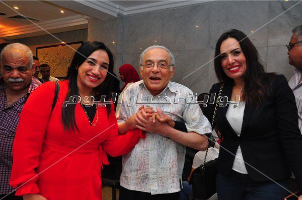 سميحة أيوب ومديحة حمدي وسميرة عبد العزيز في صالون «مصر المبدعة»