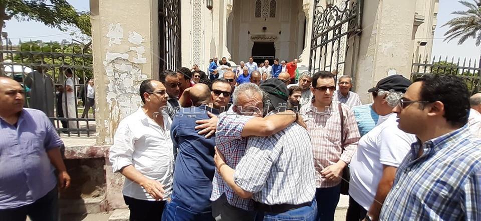 جنازة يوسف شريف رزق الله