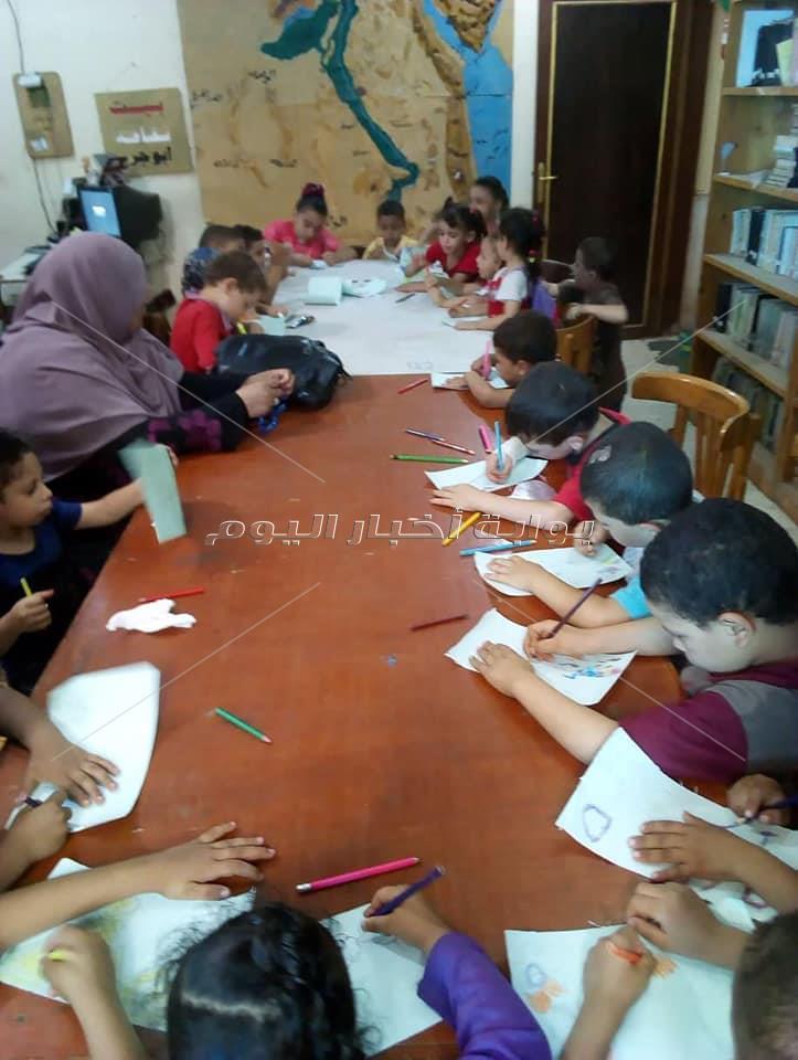 ورش فنية وعروض سينما للطفل بثقافة المنيا
