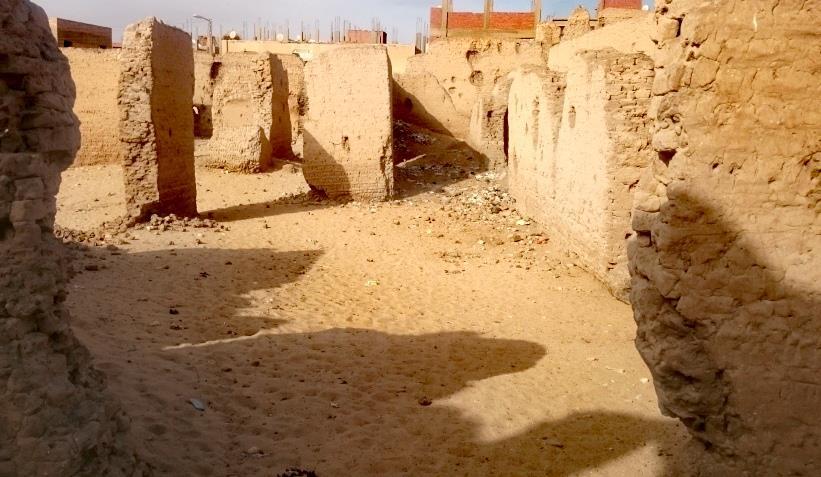 حكايات| أمجاد «الدولة الهمامية».. أطلال قلعة حربية تحمي «العاصمة» فرشوط