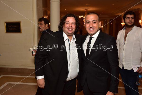 رقصات الفنانين مع دياب وبوسي بحفل زفاف «علي وحبيبة»