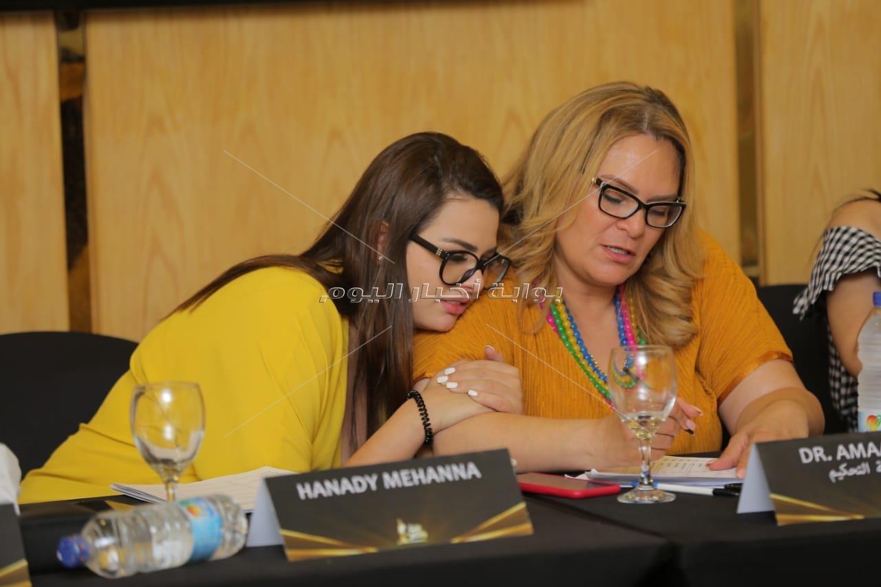 هنادي مهنا في كاستينج Miss Egypt 2019