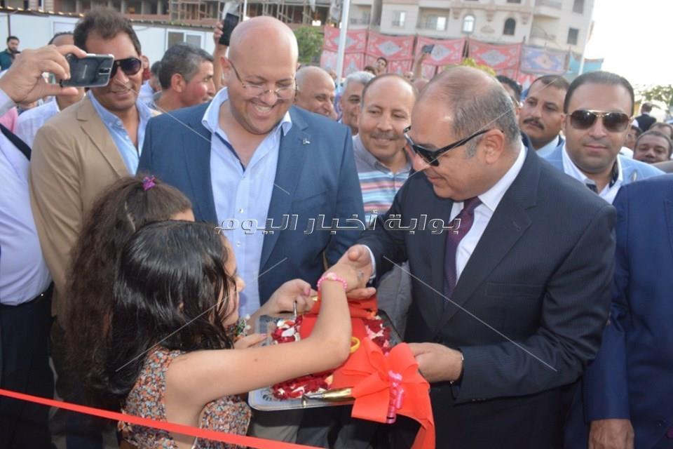 افتتاح ثاني مشروعات «شارع 306» على مستوى الجمهورية بالغربية