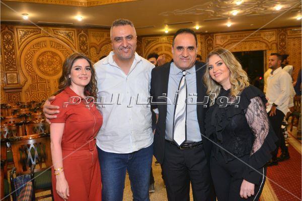 طارق فؤاد يحتفل بعقد قران ابنته على أحمد سيد السبكي