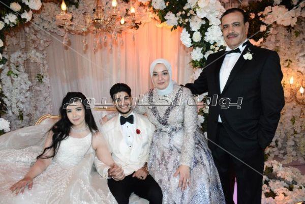 حجاج وشيبة وبوسي يحتفلون بزفاف «أحمد وسلمى»