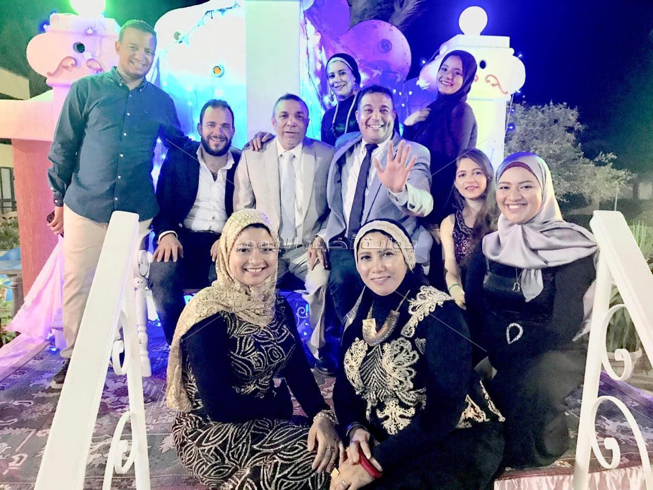 صور  جابر طابع يحتفل بزفاف كريمته «سارة» في الغردقة