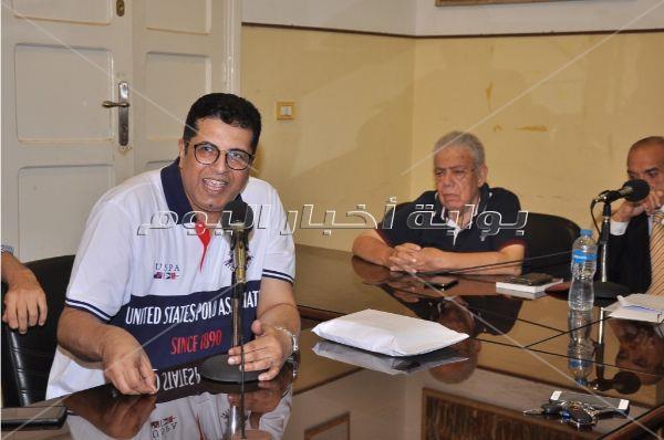 تكريم بشير الديك باتحاد كتاب مصر