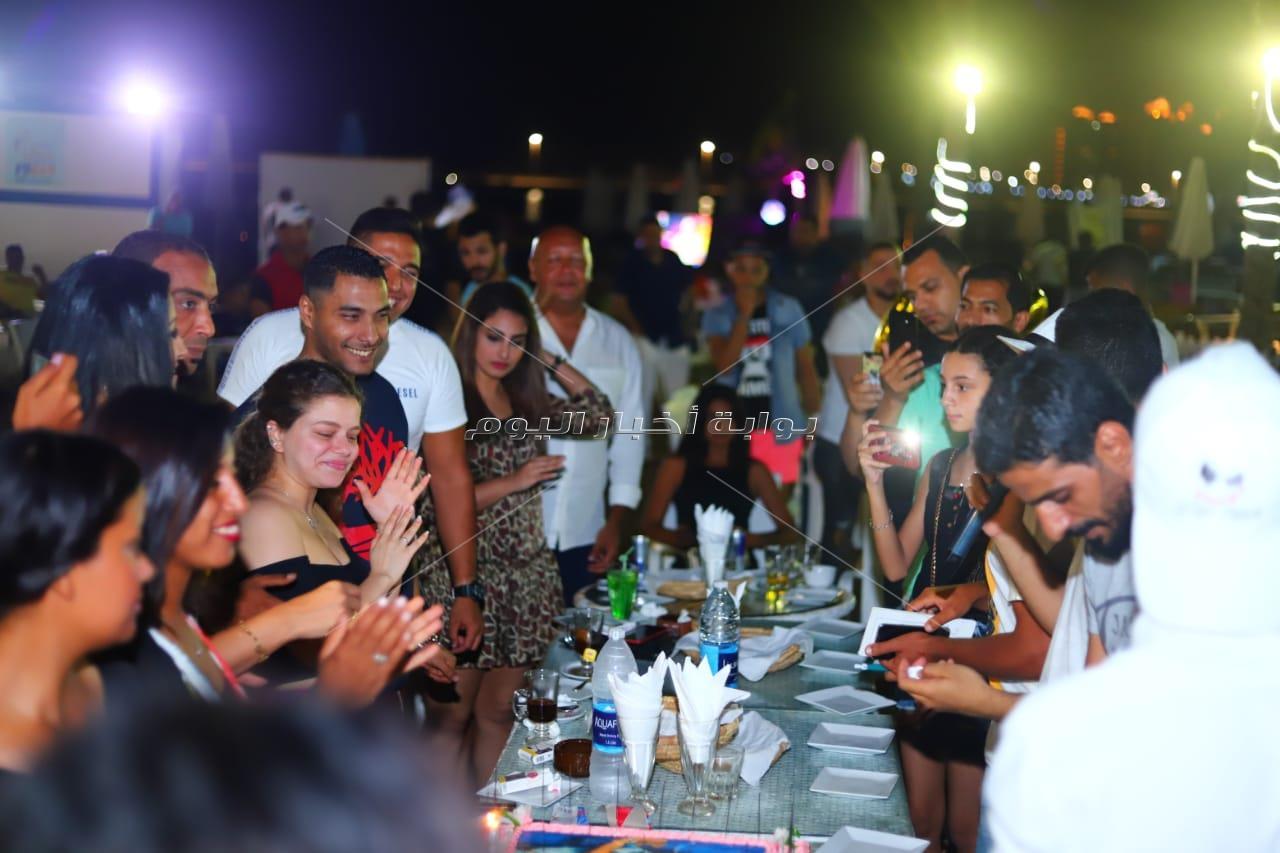 محمد شاهين يتألق بحفل «الهاموك»