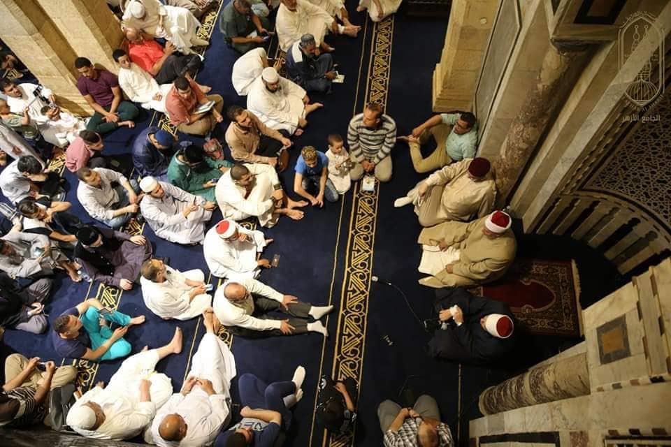 صور| الجامع الأزهر يحتضن الجنسيات المختلفة في صلاة عيد الأضحى
