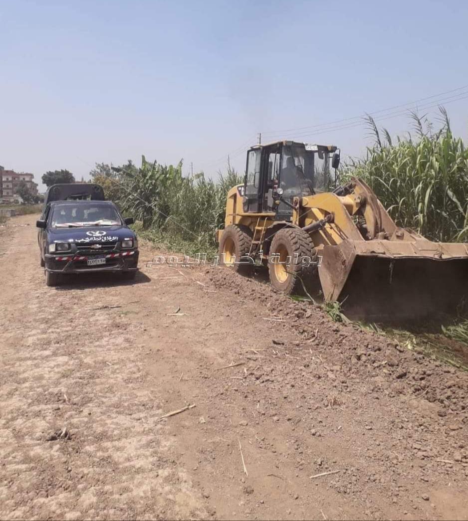 إزالة 104 حالة تعدي على مساحة إجمالية 24499م بمدن ومراكز البحيرة