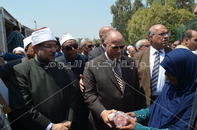 توزيع لحوم صحوك الأضاحي من القاهرة