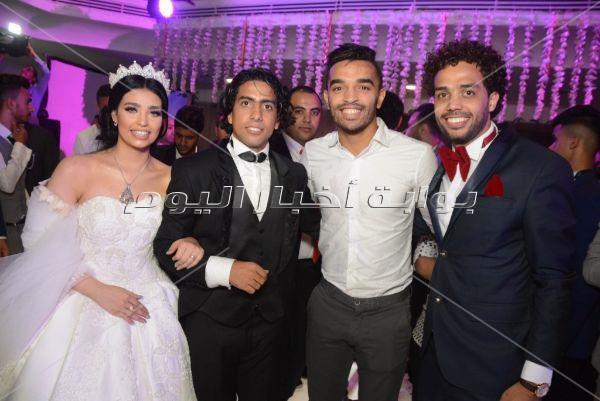 نجوم الرياضة يحتفلون بزفاف حسن يوسف