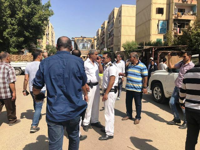 حملة مكبرة لجهاز القاهرة الجديدة
