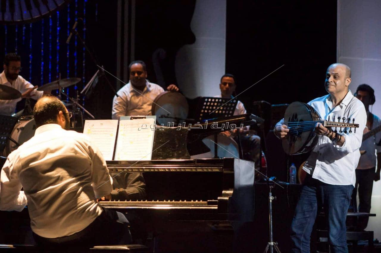 صور| «كايرو ستيبس» تسحر أوبرا الإسكندرية مع الشيخ إيهاب يونس والهلباوي