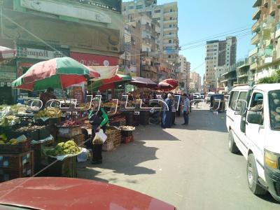 نقل سويقة مدينة قطور من الشارع الرئيسي إلي الموقف القديم
