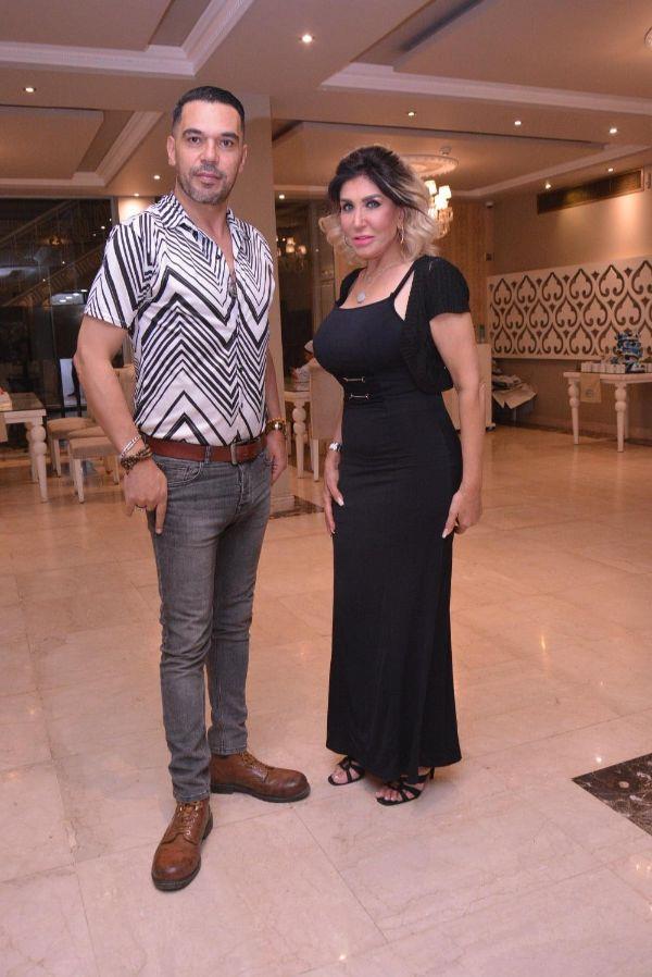 نادية سلامة وهند عاكف في احتفالية منظمة الأمم المتحدة